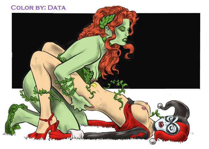 harley poison quinn lesbian ivy Interviews with monster girls