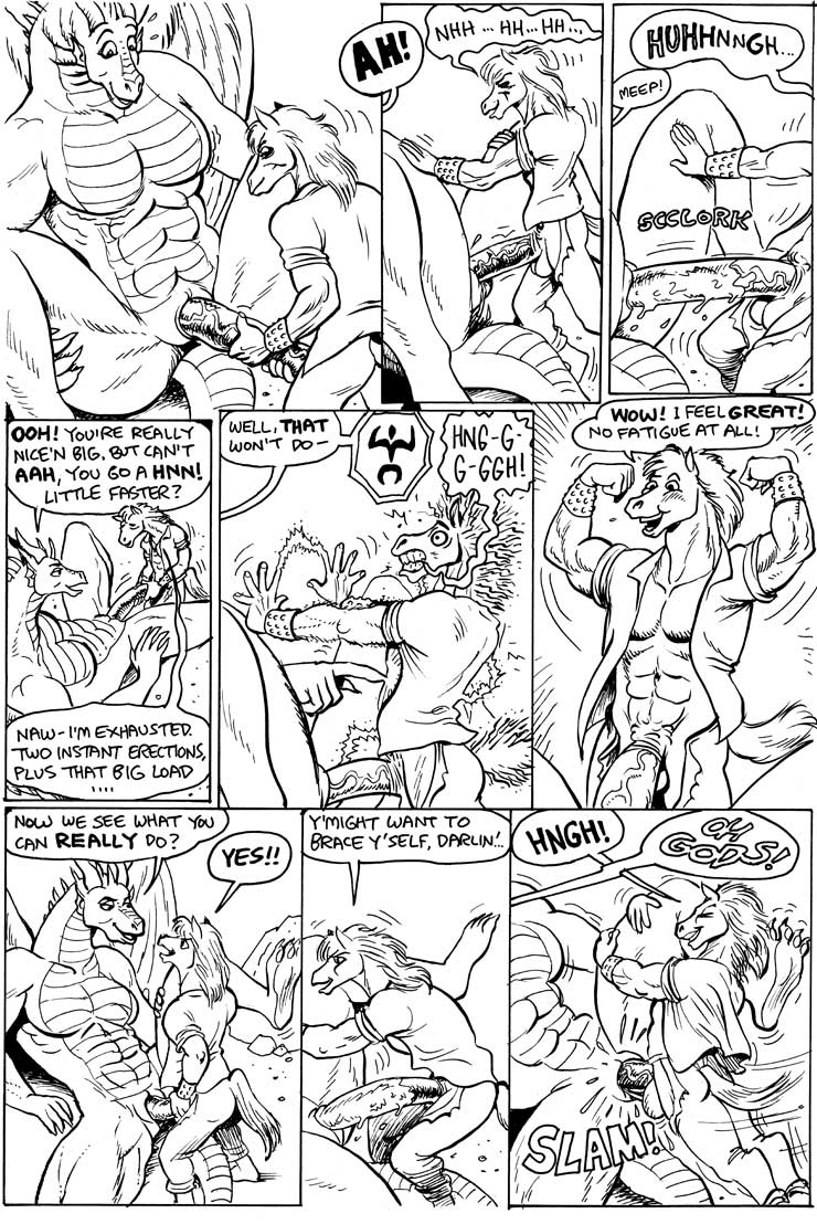 dragons there karno be here 3 Hi and lois cartoon porn