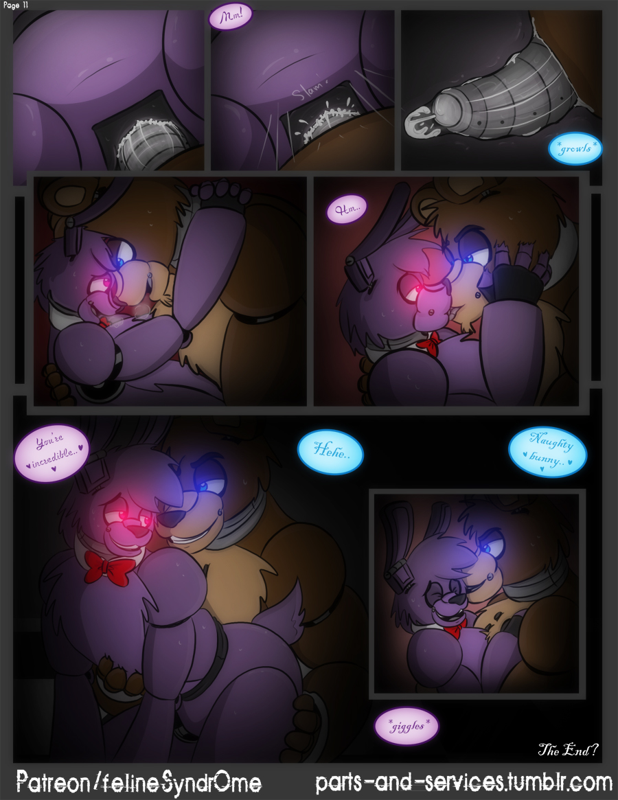 freddy's comic at five xxx nights Alice in immoral-land