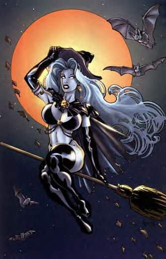 lady death marvel Do you know what the m-97 flamethrower sounds like
