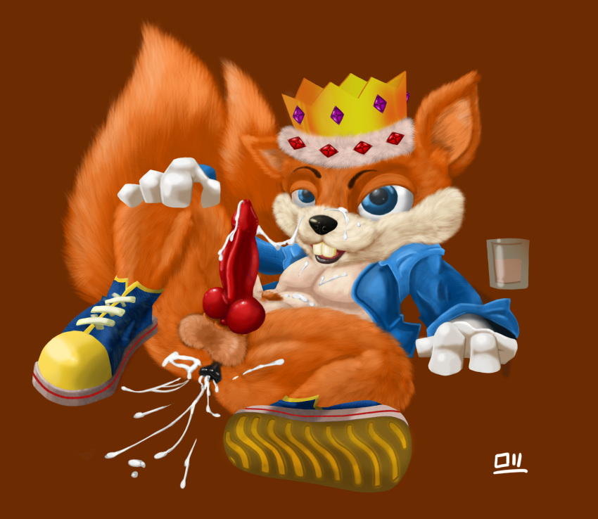 conker's cogs bad day fur If it exsists