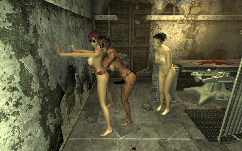 suit new chinese stealth vegas Highschool of the dead bath gif