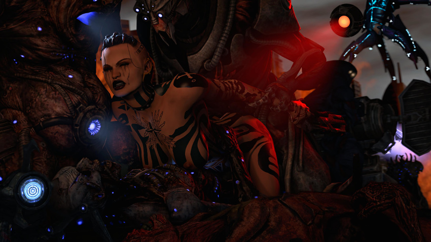 mass effect animated Elves are a proud and noble race