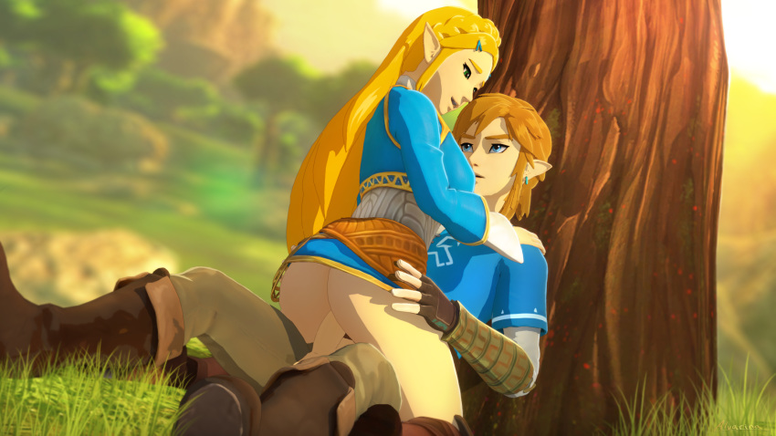 the wild breath of link trap Lord of the rings porn comic