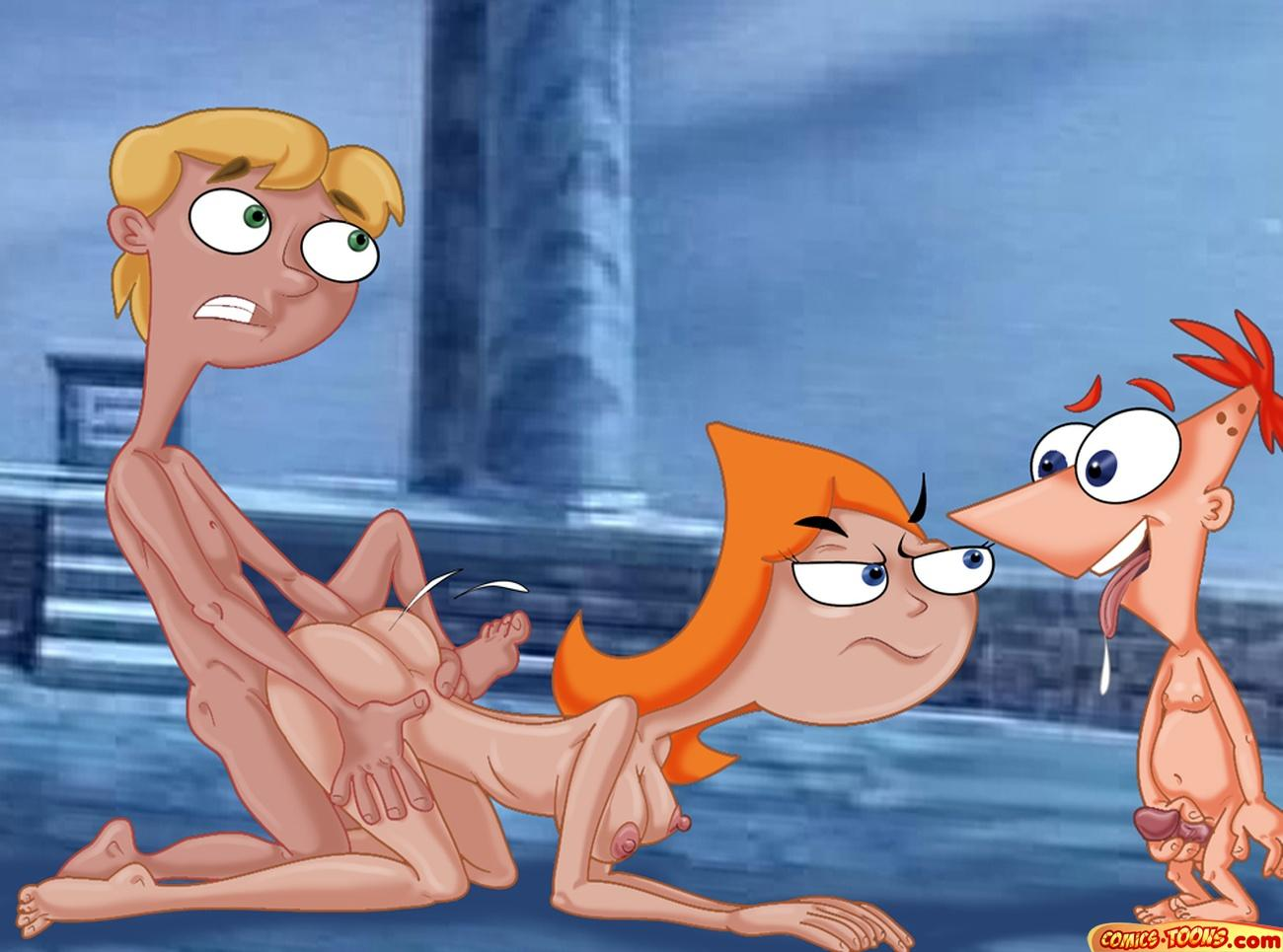 phineas and naked ferb candace Cslucaris-side-b